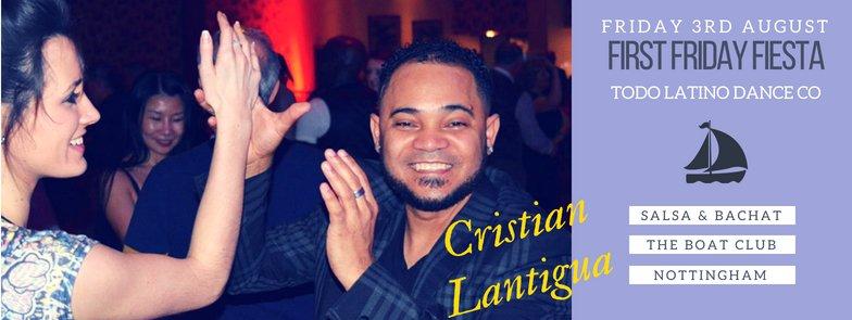 Friday Fiesta with Cristian Lantigua