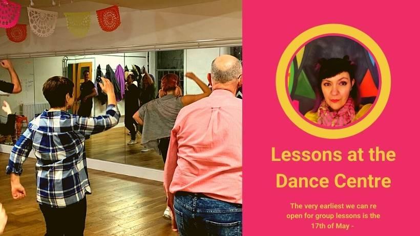 In person dance classes
